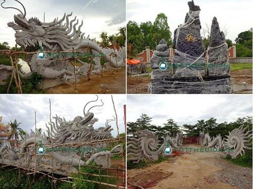 Ngắm đền thờ Tổ nghiệp trăm tỷ của Hoài Linh, Vượng Râu - 11