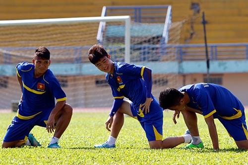 """U21 Việt Nam """"luyện công"""" chờ so tài U21 Thái Lan - 1"""