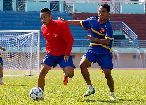 """U21 Việt Nam """"luyện công"""" chờ so tài U21 Thái Lan - 4"""