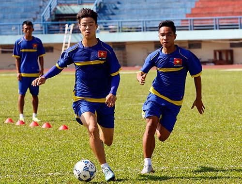 """U21 Việt Nam """"luyện công"""" chờ so tài U21 Thái Lan - 7"""