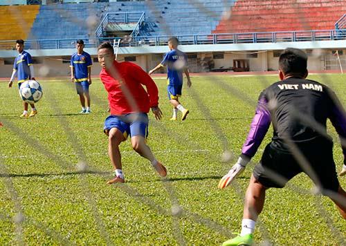 """U21 Việt Nam """"luyện công"""" chờ so tài U21 Thái Lan - 5"""
