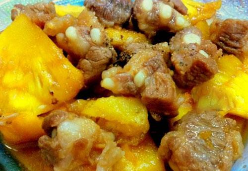 Hết veo nồi cơm với gà rim dứa và sườn non kho dứa - 4