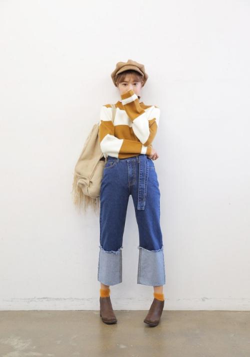 """Bí quyết diện quần jeans ống lửng thật """"chất"""" - 3"""