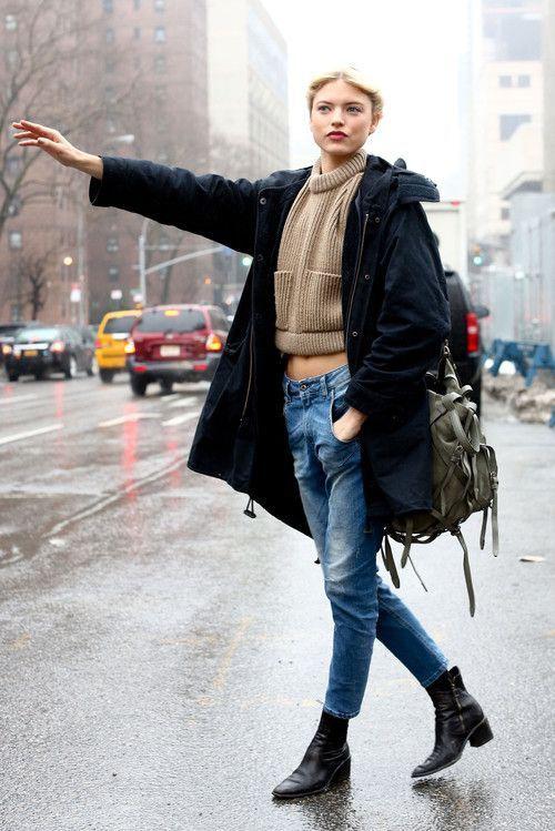 """Bí quyết diện quần jeans ống lửng thật """"chất"""" - 6"""