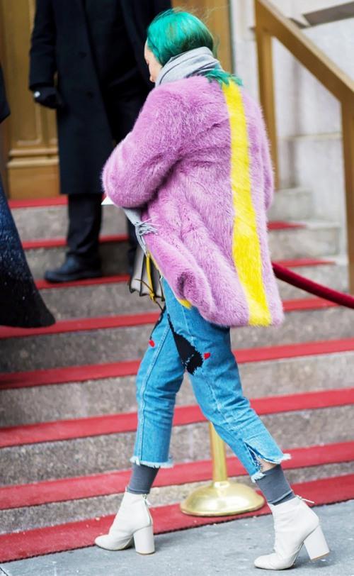 """Bí quyết diện quần jeans ống lửng thật """"chất"""" - 2"""