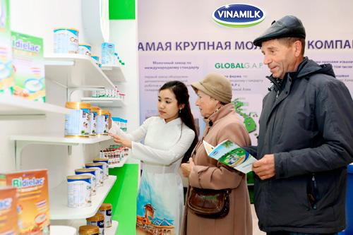 Sản phẩm Vinamilk đã chiếm được cảm tình của người dân Matxcova - 5