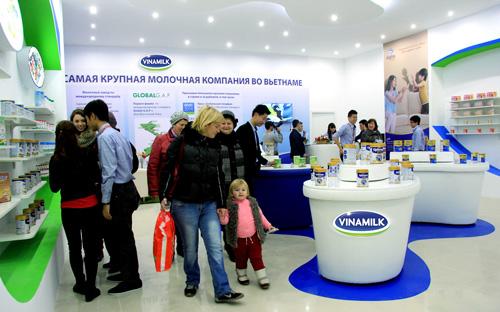 Sản phẩm Vinamilk đã chiếm được cảm tình của người dân Matxcova - 2