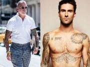 Thời trang - Choáng ngợp với 5 quý ông xăm trổ sành điệu