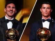 """Bóng đá - Cuộc đua QBV FIFA: Ronaldo sớm """"giương cờ trắng"""""""