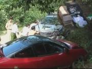 Video An ninh - Phóng siêu xe trốn chạy, kẻ buôn cần sa dọa bắn CSGT