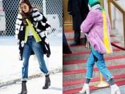 """Thời trang - Bí quyết diện quần jeans ống lửng thật """"chất"""""""