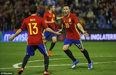 Chi tiết Tây Ban Nha - Anh: Dập tắt hi vọng (KT) - 8