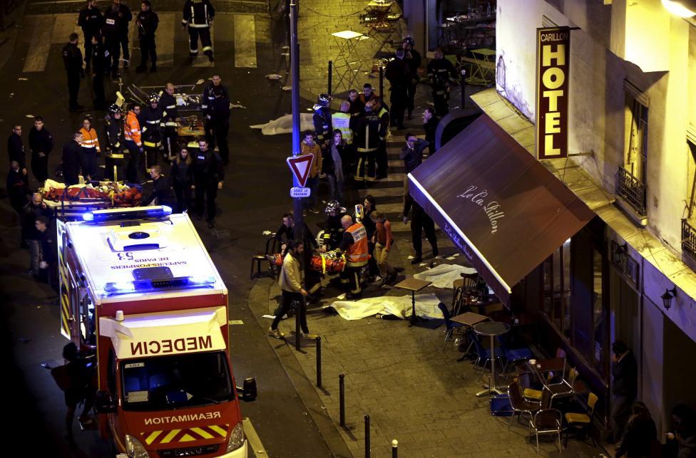 Tang thương hiện trường vụ tấn công hàng loạt ở Paris - 4