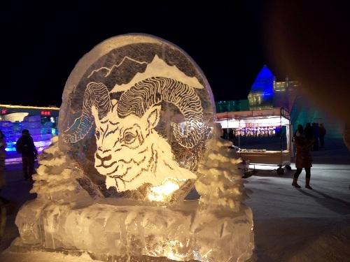 Cận cảnh Lễ hội Băng đăng Quốc tế Cáp Nhĩ Tân 2015 - 4