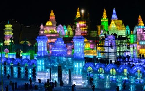 Cận cảnh Lễ hội Băng đăng Quốc tế Cáp Nhĩ Tân 2015 - 5