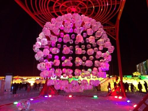 Cận cảnh Lễ hội Băng đăng Quốc tế Cáp Nhĩ Tân 2015 - 3