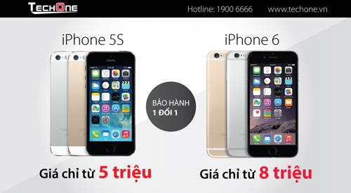 iPhone 5S/iPhone 6 hạ giá tới 2 triệu gây sốt - 4