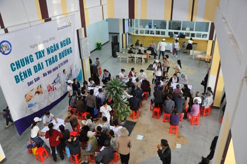 AstraZeneca đồng hành cùng cộng đồng nhân ngày Đái Tháo Đường Thế Giới - 1