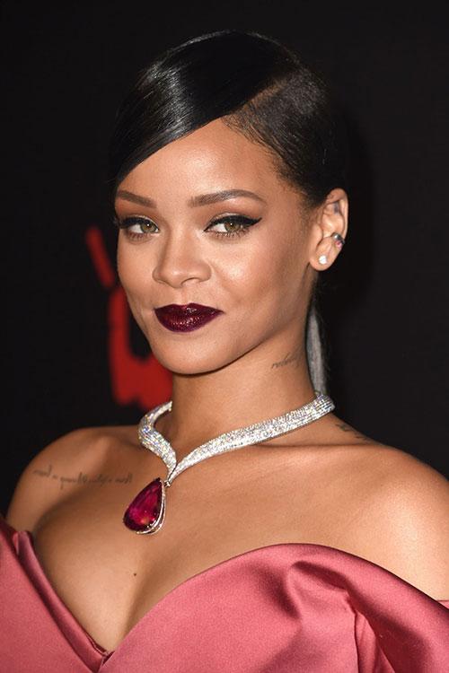 """Tuyển tập màu son đẹp và """"độc"""" của Rihanna - 10"""