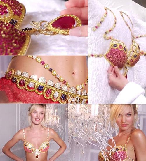 Loá mắt vì 19 mẫu áo lót xa xỉ của Victoria's Secret - 21