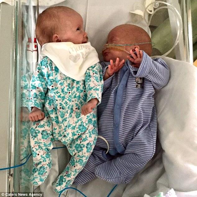 Bà mẹ ung thư đặt cược tính mạng để 2 con chào đời - 4