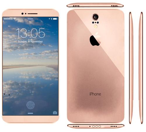 Mê mẩn với iPhone 7 concept mặt lưng cong - 2