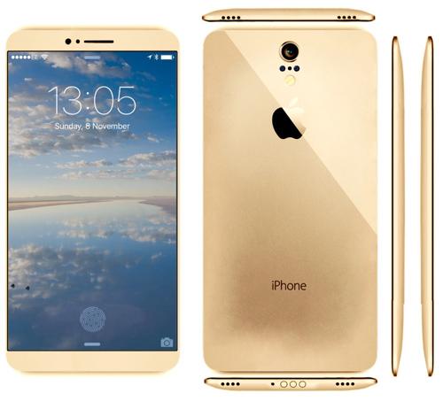 Mê mẩn với iPhone 7 concept mặt lưng cong - 4