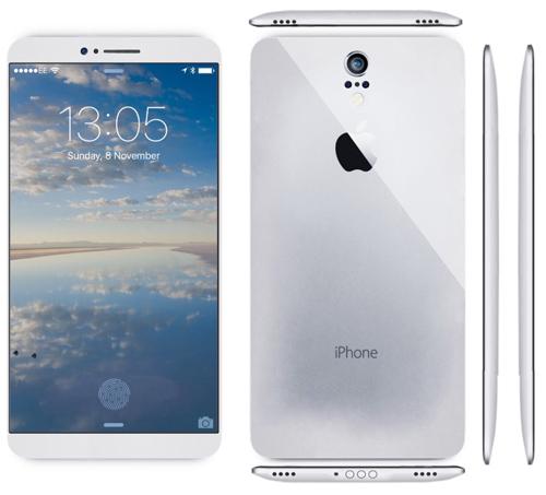 Mê mẩn với iPhone 7 concept mặt lưng cong - 5