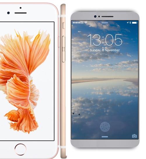Mê mẩn với iPhone 7 concept mặt lưng cong - 6