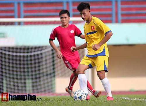 U21 VN đá giao hữu, truyền nhân Văn Quyến toả sáng - 4