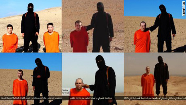 """Đao phủ IS """"John thánh chiến"""" có vợ và con trai ở Syria - 2"""