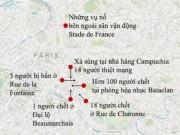Thế giới - Ảnh: Chi tiết vụ khủng bố đẫm máu 6 địa điểm ở Pháp