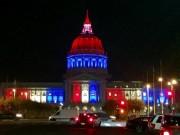 Thế giới - Thế giới rực sáng màu cờ Pháp sau khủng bố đẫm máu