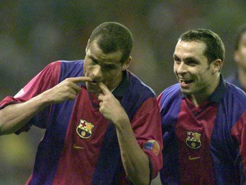 """Tiếng còi """"đen"""" Real-Barca: Rivaldo bị cướp hat-trick (P3) - 1"""