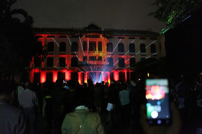 Màn trình diễn ánh sáng nghệ thuật mãn nhãn giữa Thủ đô - 1