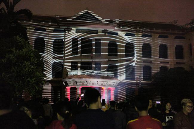 Màn trình diễn ánh sáng nghệ thuật mãn nhãn giữa Thủ đô - 7