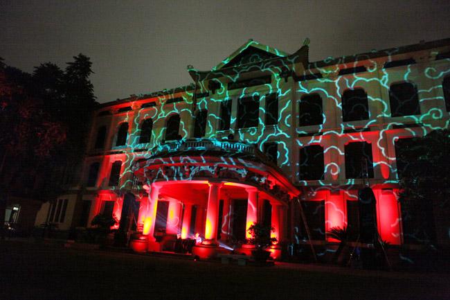 Màn trình diễn ánh sáng nghệ thuật mãn nhãn giữa Thủ đô - 9