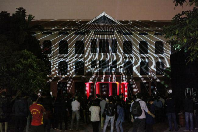 Màn trình diễn ánh sáng nghệ thuật mãn nhãn giữa Thủ đô - 10