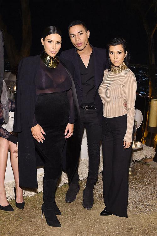 """Choáng với thời trang của bà bầu Kim """"siêu vòng 3"""" - 12"""