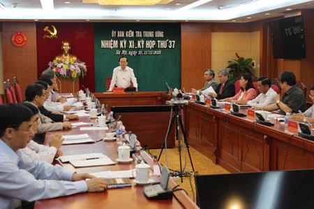 Chuẩn bị nhân sự Ủy ban Kiểm tra TƯ trình Bộ Chính trị - 1