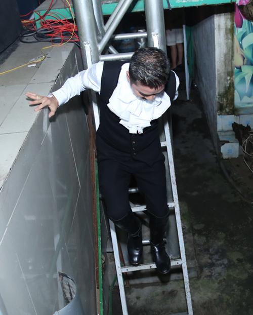 Sợ độ cao, Mr. Đàm vẫn leo trèo để chuẩn bị liveshow - 3