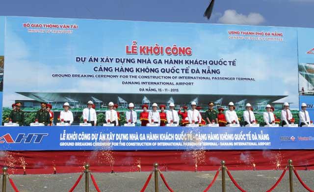 Đà Nẵng khởi công sân bay quốc tế phục vụ APEC 2017 - 1