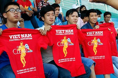 """CĐV Việt Nam háo hức """"tiếp lửa"""" giải U21 Clear Men Cup - 3"""
