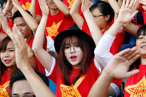 """CĐV Việt Nam háo hức """"tiếp lửa"""" giải U21 Clear Men Cup - 10"""