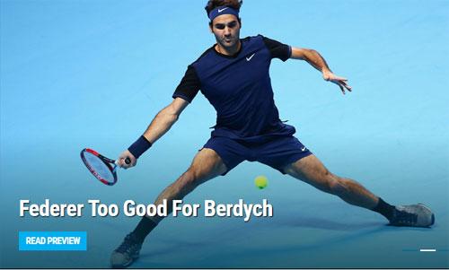 Federer – Berdych: Chiến thư đanh thép (ATP Finals) - 1
