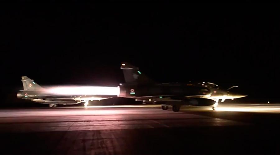 Pháp dội bom một loạt căn cứ IS ở Syria - 1
