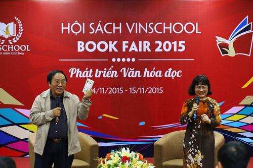 Hội sách Vinschool Book Fair 2015: Tôn vinh văn hóa đọc - 4