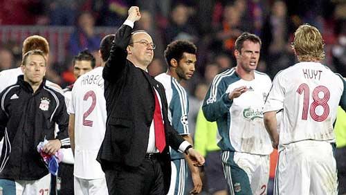 """El Clasico: Benitez là """"hung thần"""" của Barca - 1"""