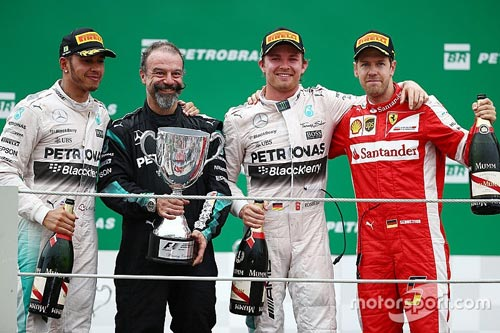BXH Brazilian GP: Niềm vui trọn vẹn cho Mercedes - 1