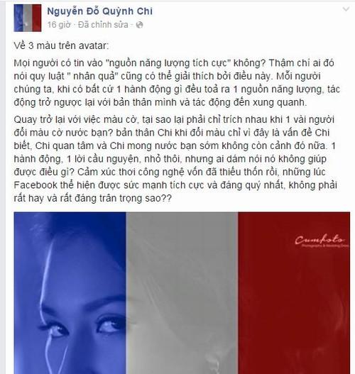 """Sao Việt bức xúc vì phán xét """"a dua đổi avatar cờ Pháp"""" - 3"""